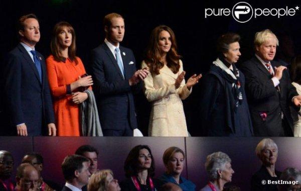 Kate et William, présents à la cérémonie d'ouverture des Jeux Paralympiques de Londres