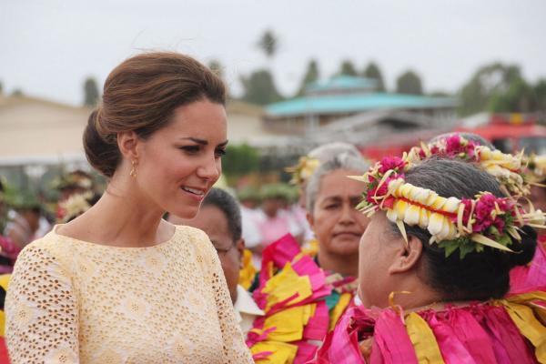 Kate et William : leur arrivée à Tuvalu