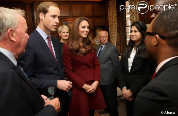 Kate et William à l'Honorable Société du Middle Temple