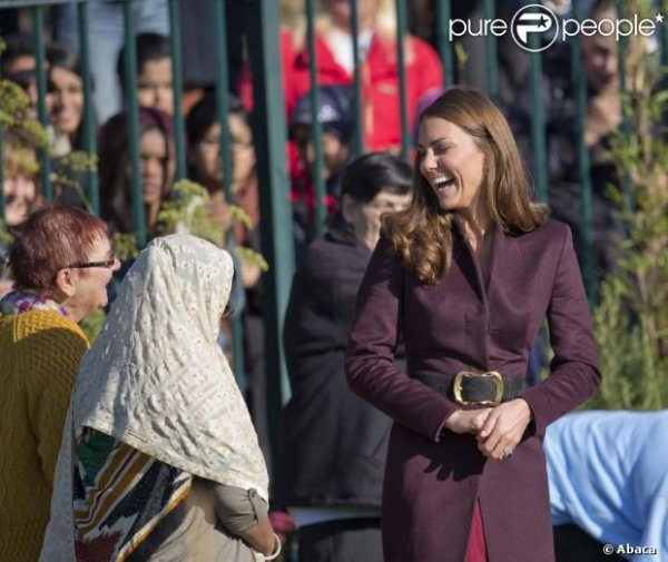 Kate en visite à Newcastle
