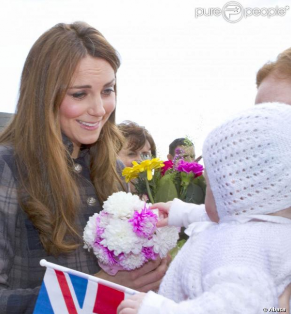 Kate et William en visite à Glasgow