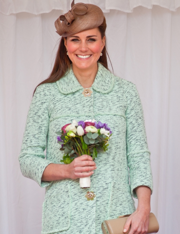 Kate pour la revue nationale des Queen's Scouts