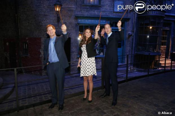 Kate dans l'univers d'Harry Potter