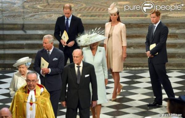 Kate au 60ème anniversaire du couronnement de la Reine Elizabeth II
