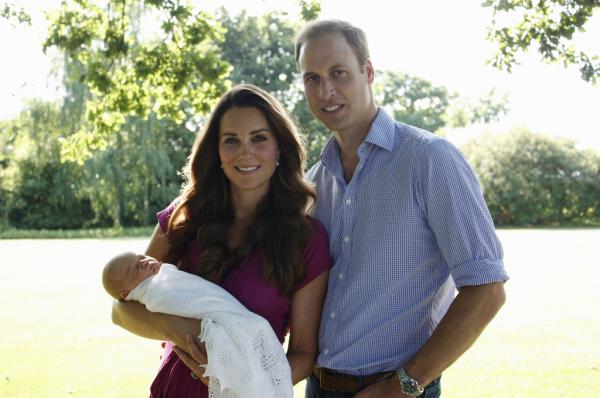 Premières photos officielles de la petite famille