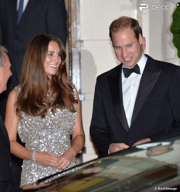 Kate de retour au côté de William au gala de la fondation Tusk Trust