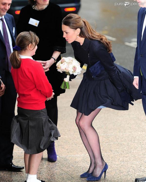 Kate à Londres pour un forum