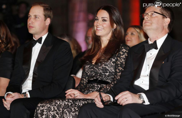 Kate et William pour une projection en 3D