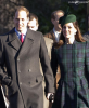 Kate et William à la messe de Noël 2013