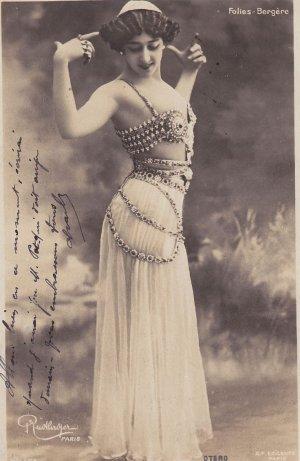 Agustina Otero Iglesias, alias Caroline Otero, dite La Belle Otero.