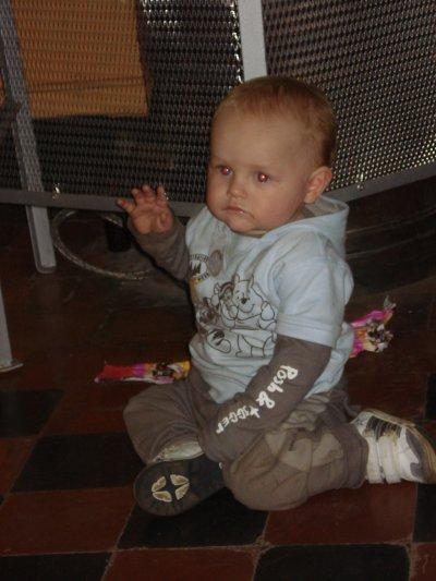 mon bebe d'amour,1 an
