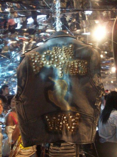 Lady Gaga sur Pièces d'affichage de Nicola dans NYC