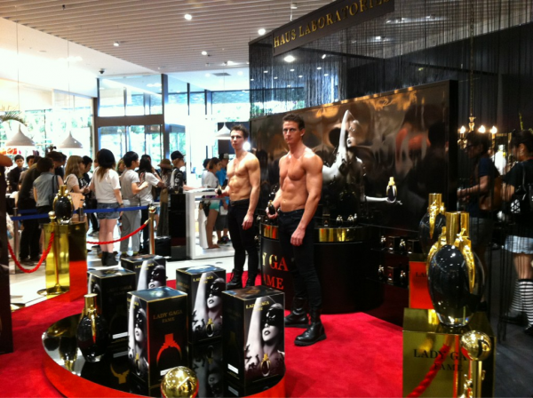 Lady Gaga's FAME Fragrance Launch in Japan