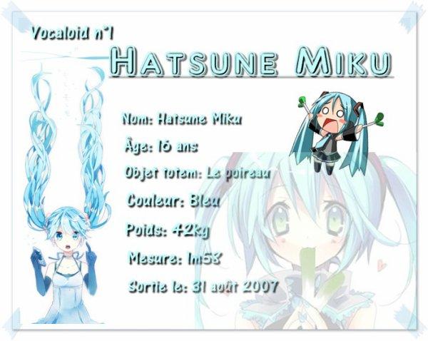 ♫ Hatsune Miku ♫