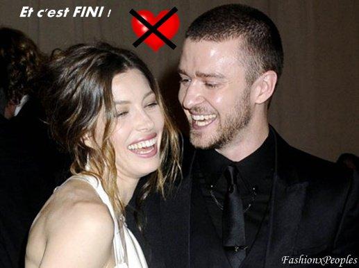 Justin Timberlake et Jessica Biel : cette fois c'est officiel, ils ont rompu !
