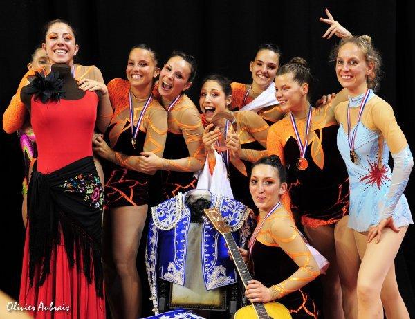 CHAMPIONNAT DE FRANCE DF/DN NIMES 2012