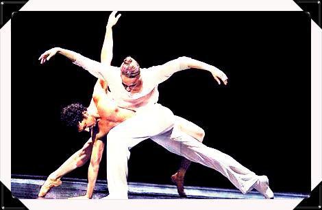 Danser avec ses pieds est une chose, mais danser avec son coeur en est une autre.