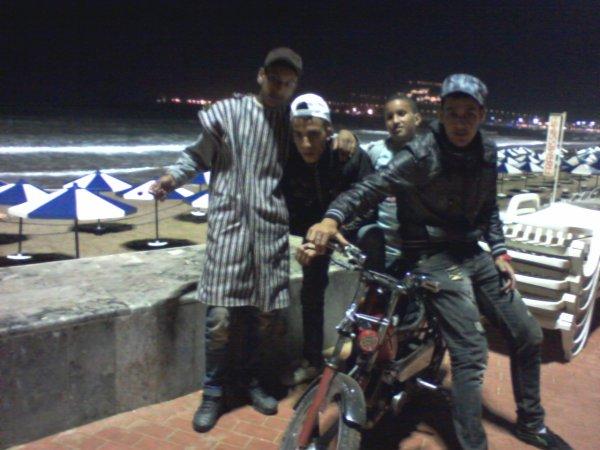 moi and kamal and harache and X