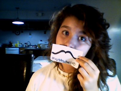 because mustaches are awesome!