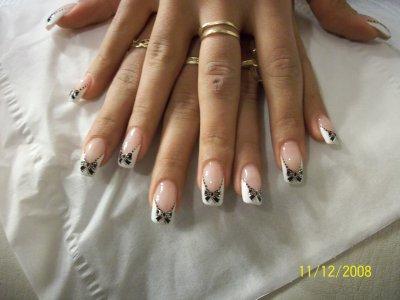 Deco noel for hair nails for Deco ongle noel