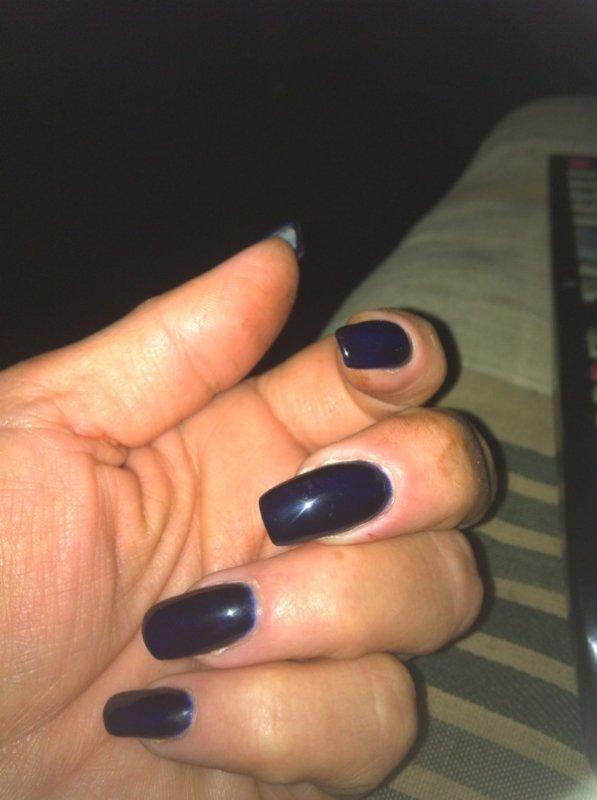 vernis semi permanent bleu nuit for hair nails. Black Bedroom Furniture Sets. Home Design Ideas