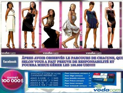 Qui sera l'ambassadrice de la beauté congolaise ce soir et portera la couronne?