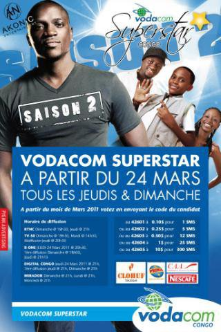 Vodacom Superstar Saison 2