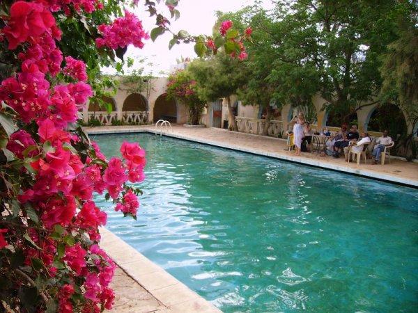 312 -  La piscine de Béni Abbès
