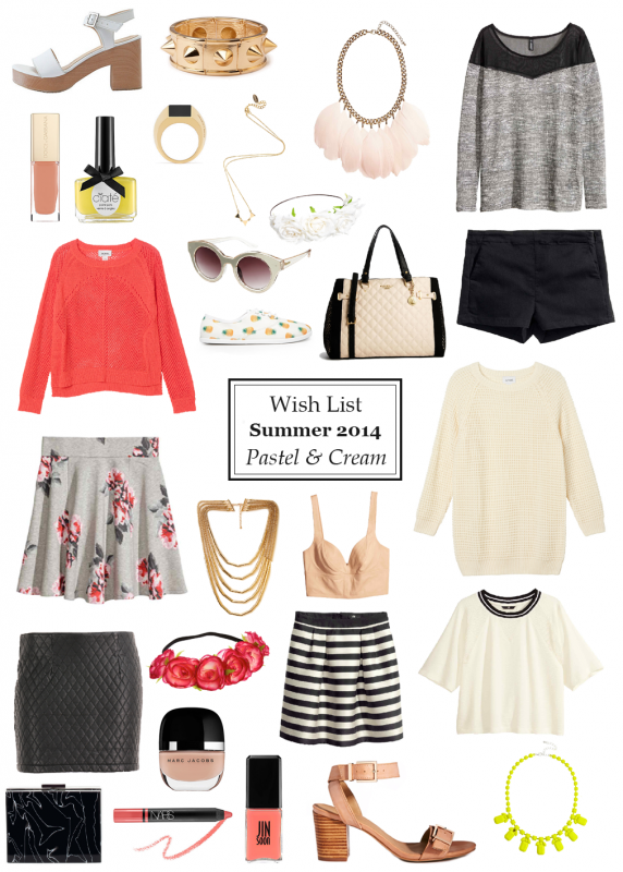 ~ Wish list Spring-Summer 2014 ~