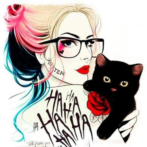 miaou ...j'adore la chatte d'harley ^^