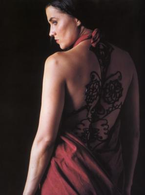 xena avec un super beau tatouage