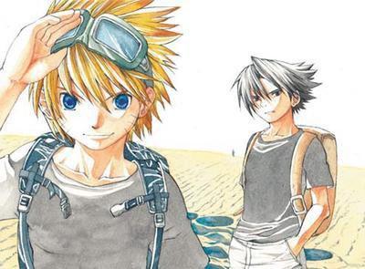 C'est les vacances pour sasuke et naruto ^^