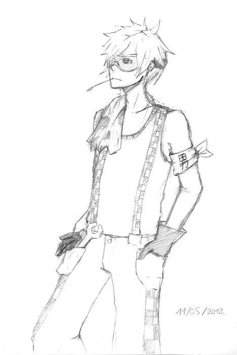 Boy sketch!