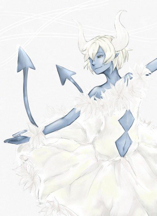 "Petit retour ! ""White Dancer"""