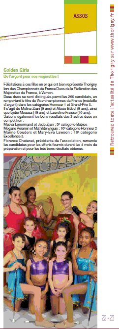 Les filles dans le Magazine de la Ville