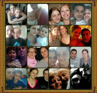 Ma famille et mon homme