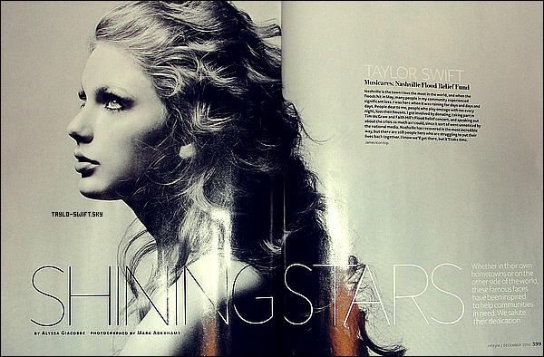 .     ??/11/10 - Voici un scan du numéro du mois de Decembre de ' In Style '.   J'adore cette photo. WAW & toi? .