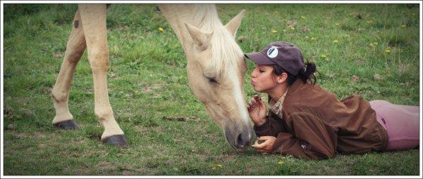 Mon poney, c'est comme ma meilleure amie.