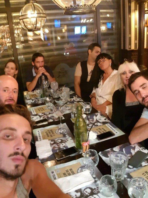 Jeudi soir restaurant avec des amies
