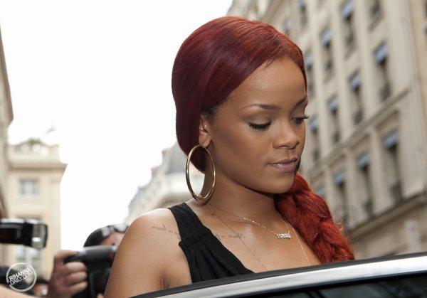 Rihanna Ponytail in Paris!