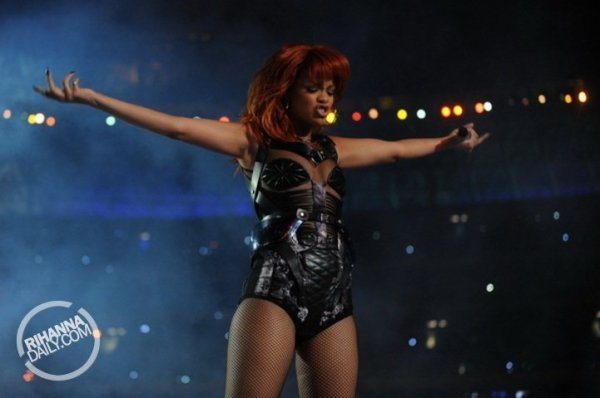 Rihanna - Performing for 75th anniversary of FC Shakhtar