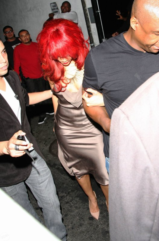 At LAX Airport & Leaving a BET Awards afterparty at the Playhouse nightclub in LA