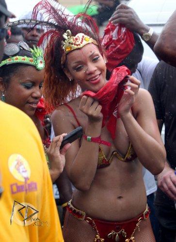 Rihanna au carnaval , Barbade