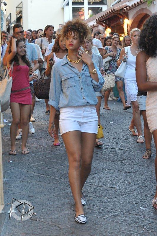 Rih' ... Capri en Italie