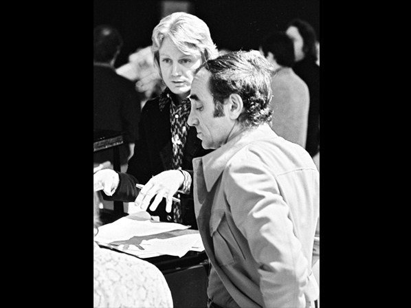 claude et Charles aznavour