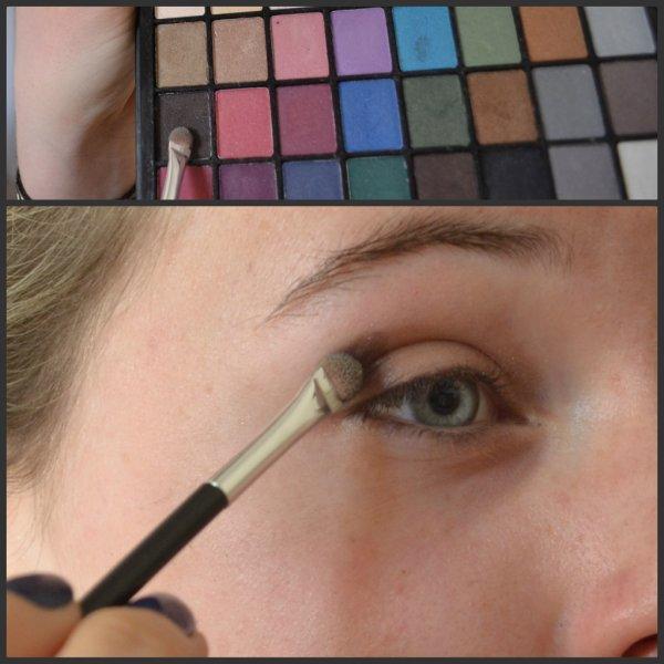 TUTO N°1 → Maquillage discret des yeux.