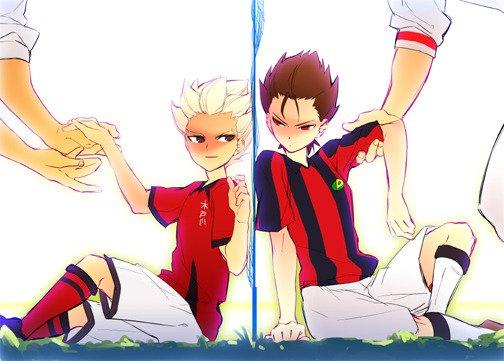 [Inazuma, Ginga e Kickoff, Foot 2 Rue, Olive et Tom] Amis, mais pas alliés.