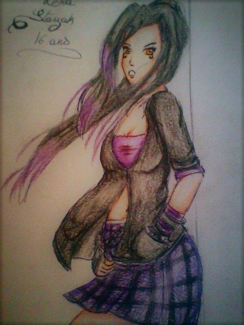 ~ Personnage RP ~ Lena Starzak, Espionne.