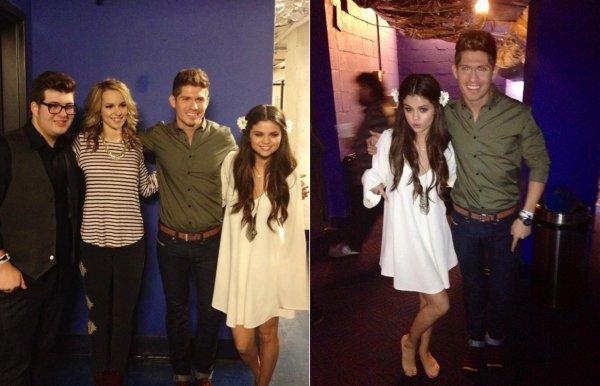 Selena Gomez au concert pour l'UNICEF