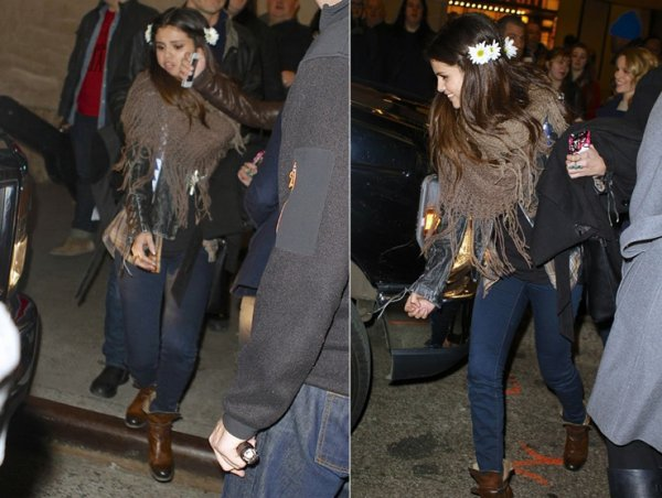 19 janvier : Selena sortant de Best Buy Theater